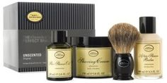 The Art Of Shaving The 4 Elements Of The Perfect Shave Kit Badger Shaving Brush, Shaving Oil, Shaving Cream, The Art Of Shaving, Razor Burns, Pre Shave, After Shave Balm, Ingrown Hair, The Balm