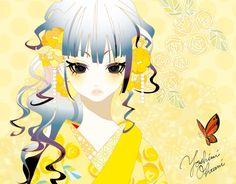 Japanese illustrator Yoshimi OHTANI | DENKI-MIRAI, Japanese art licensing agency