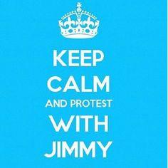 """"""" NO ! Jimmy protested ! """" hahahaha"""