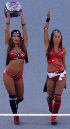 The Bella Twins Nikki and Brie Bella are both pregnant at the same time Nikki Bella Fotos, Nikki Y Brie Bella, Brie Bella Wwe, The Bella Twins, Daniel Bryan, Jake Paul Team 10, San Diego, Twin Costumes, Bliss
