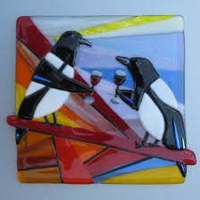 fused glass plates - Google Search