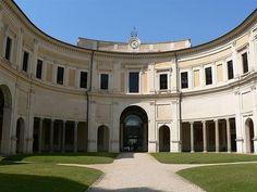 Villa Guilia in Rome, Italy
