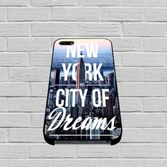 City Of Dreams New York case for iPhone, iPod, Samsung Galaxy, HTC One, Nexus