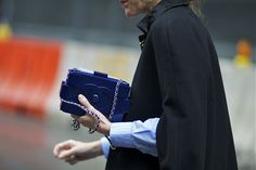 Chanel Lego Clutch - The Handbag Concept Anna Dello Russo, New York Street Style, Street Style Blog, Chanel Logo, Lego Bag, Khloe Kardashian, New York Fashion, I Dress, What To Wear