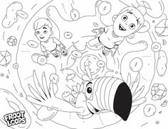 Your kids can help Toucan Sam color in all the fun and excitement of Loopy Island – the place where blue Froot Loops come from. Coloring Pages For Kids, Coloring Books, Froot Loops, Preschool Learning Activities, Chores For Kids, Doodle Art, Early Childhood, Digital Illustration, Flower Arrangements