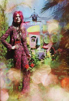 """Like Dreamers Do"" : Malgosia Bela : UK Vogue December 2012 : Tim Walker"