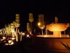 Fuente frontal e iluminacion
