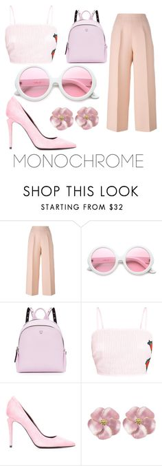 """""""Is it too late to say sorry?"""" by glittterbabe ❤ liked on Polyvore featuring Fendi, ZeroUV, MCM and Alexander Wang"""