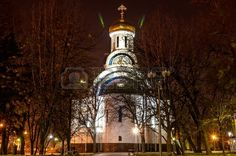 The Rostov Cathedral of the Nativity of the Virgin Mary at night Stock Photo - 23997325