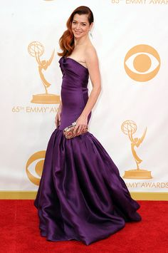 Alyson Hannigan - Marchesa