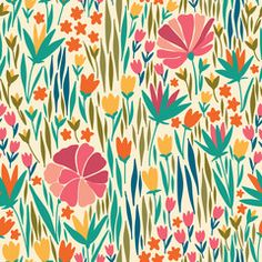 Vector seamless pattern with summer flower. It can be used for desktop wallpaper or frame for a wall hanging or poster,for pattern fills, surface textures, web page backgrounds, textile and more.