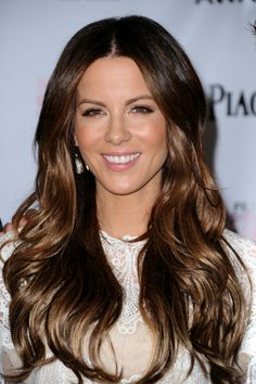 Obsessed with Kate Beckinsale's hair!