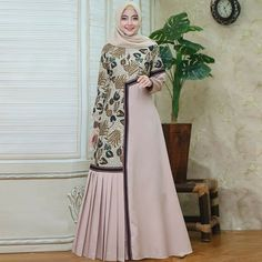 Batik Fashion, Abaya Fashion, Muslim Fashion, Dress Muslim Modern, Muslim Dress, Model Dress Batik, Batik Dress, Abaya Mode, Mode Hijab
