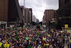 Folha Política: Veja imagens do protesto contra Dilma em São Paulo que a imprensa não viu