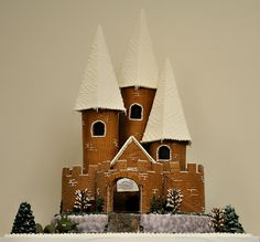For Quenton who wants me to make a gingerbread castle