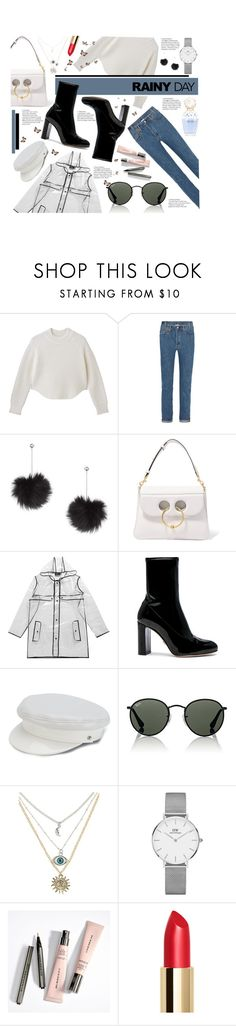 """Fall"" by karolinapl ❤ liked on Polyvore featuring Vetements, Topshop, J.W. Anderson, Boohoo, Oscar Tiye, Manokhi, Ray-Ban, Daniel Wellington and Marc Jacobs"