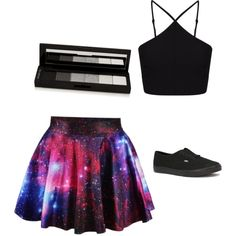 Untitled #8 by adenvait on Polyvore featuring polyvore, fashion, style, Miss Selfridge, Vans and shu uemura