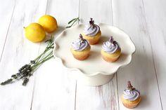 Lemon Filled Lavender Cupcakes | Yummy Mummy Kitchen | A Vibrant Vegetarian Blog