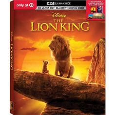 The Lion King Live Action (Target Exclusive) The Lion King, Lion King Dvd, Disney Lion King, Sun Conjunct Pluto, Disney Blu Ray, Aladdin Live, Young Simba, Creative Thinking Skills, Pride Rock