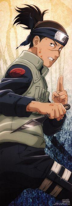 Iruka : yo amo a esta persona fue una de las únicas personas que se acercó a Naruto y lo ayudó y defendió