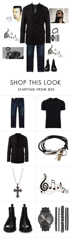 """R I P George Michael"" by agordon9369 ❤ liked on Polyvore featuring Hollister Co., Dolce&Gabbana, Givenchy, Degs & Sal, Benzara, men's fashion, menswear, carelesswhispers, fatherfigure and iknewyouwerewaiting"
