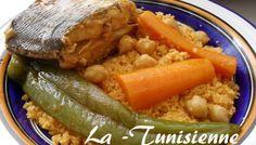 Couscous de Bizerte à la dorade
