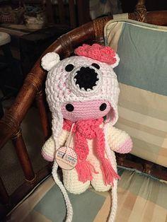 Ravelry: sandyeggers02's Polar Bear Big Head doll