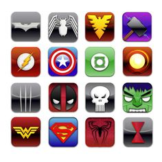 Superhero Logos | superHeroIcon