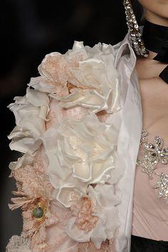 Details: Christian Lacroix, Haute Couture Spring/Summer 2009.