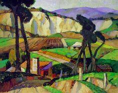 John Weeks, NZ painter and teacher. Beautiful colour.
