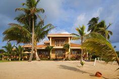 Beach house at Hopkins Bay Beach Resort  #Belize #Vacation #Beachhouse
