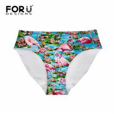 82f34103a0b4 FORUDESIGNS Women 3D Sexy Animal Owl Printed Panties Ladies Underwear  Seamless Panties String Bragas Panties for Female Lingerie