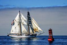 TALL SHIP PARADE SAN DIEGO BAY