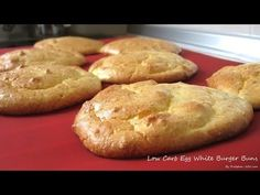Low Carb Egg White Burger Buns (South Beach Phase 1 Recipe) - Diet Plan 101