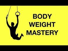 Kinobody Bodyweight Mastery Program (Gymnastics Workout at Home) Gymnastics Skills, Gymnastics Workout, Kinobody Workout, Pistol Squat, Muscle Up, Body Weight Training, Calisthenics, At Home Workouts, Routine