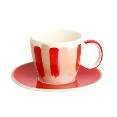 A Loja do Gato Preto | Chávena Café Pincel Vermelho #alojadogatopreto