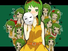 30 day vocaloid challenge #15 - Favorite vocaloid - Gumi!! I think when I was first getting into vocaloid I just liked her hair a lot but when I actually listened to her songs I was like yes I like that is some good shit