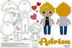 My Ladyblog - Moldes para Adrien//Chat Noir #wattpad #fanfic