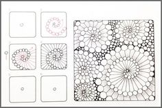 Taking the doodles from your notebook and combining them with the charm of adult coloring books you get Zentangles. These relaxing forms of art are meant to center and calm you. You can do them on your walls or at your desk, though we don't recommend doing them in a moving vehicle. You'll want a steady hand and to take things slow.