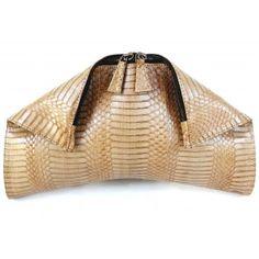 511bfe00e MACY - Handmde Genuine Cobra snake skin Clutch www.Nancy-Boutique.com  Reptile