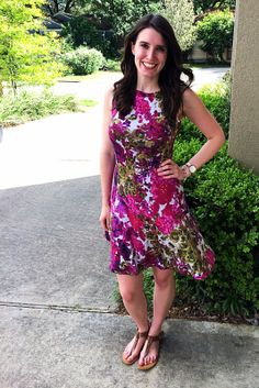 Fit and Flare Sun Dress Tutorial by Bunny Baubles 3