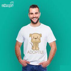 Koszulka dla wszystkich miłośników psiaków :-) #gryfinskikojec #tshirt #koszulka #adoptuj #pieszeschroniska Ten i pozostałe wzory dostępne na: http://ift.tt/23UrCr7