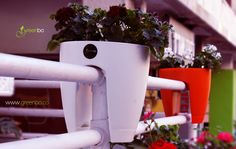 Greenbo Railing Planter design your urban balcony garden... greenbo.co