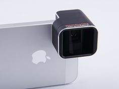 1.33x Anamorphic Adapter Lens for iPhone 5/5S Photo original Create compelling widescreen films and photographs with your iPhone ...and maybe end up at Sundance! Photo original