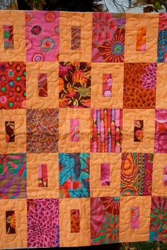 kaffe fassett quilt | Flickr - Photo Sharing!