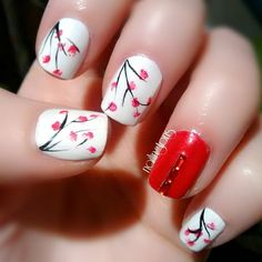 22 Gorgeous Nail Art Designs For Chinese New Year