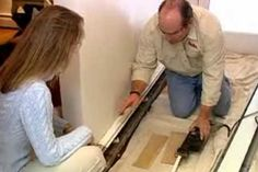 How to replace a baseboard heating cover with Plumbing and heating contractor Richard Trethewey. | thisoldhouse.com