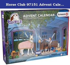 Horse Club 97151 Advent Calendar 2016 Toy by Horse Club. Educational Toy;Individually Hand Painted;Contains Exclusive Products.