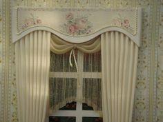 Miniature 1:12 Dollhouse curtains on order por TanyaShevtsova
