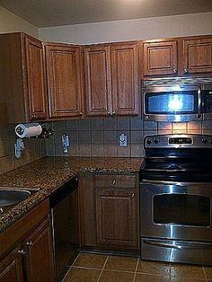 Marble/granite countertops ... Stainless steel appliances